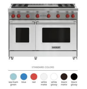 Choose Your Range Color