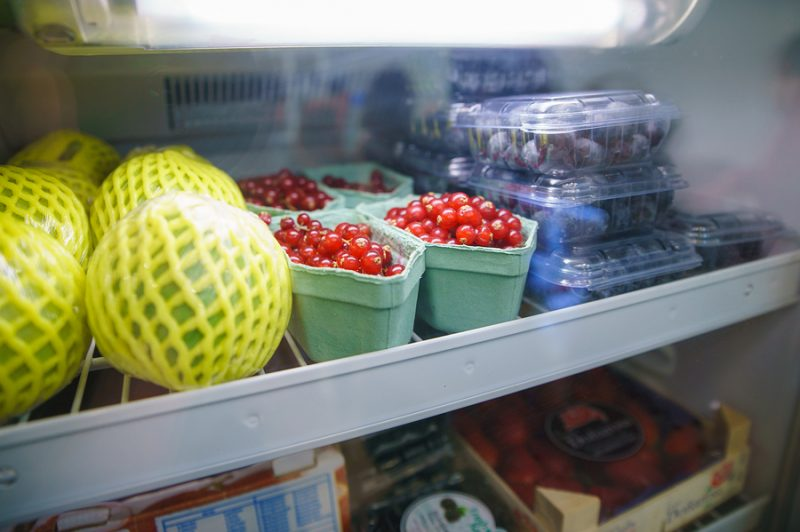 Orange County appliance servicing - fruits and vegetables in the refrigerator background
