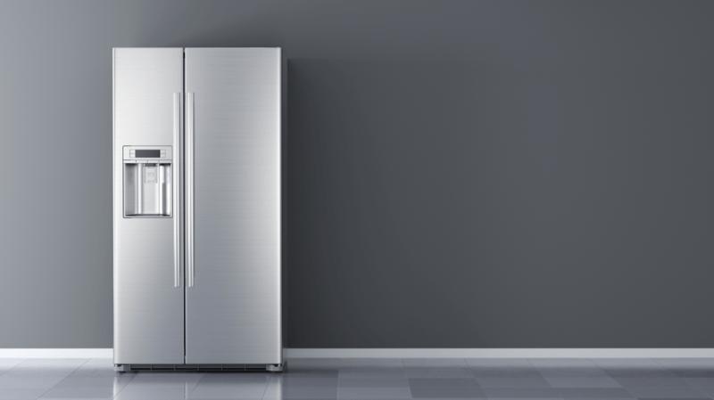 silver-refrigerator