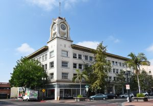 SANTA ANA, CALIFORNIA - AUGUST 27, 2018: W. H. Spurgeon Building